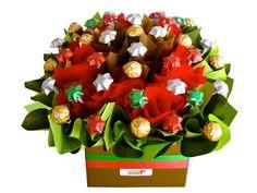 Christmas Tidings Chocolate Bouquet