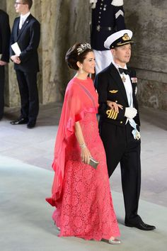 The King and Queen. (Crown Princess Mary and Crown Prince Frederik)