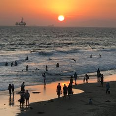 Huntington Beach California, Things To Do, Celestial, Sunset, Outdoor, Things To Make, Outdoors, Sunsets, Outdoor Games