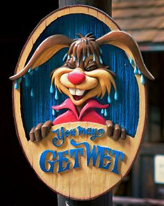 Magic Kingdom -- Splash Mountain -- Brer Rabbit