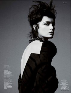 Dark J'Adore in Stylist France with Zlata Mangafic wearing Chanel,Carven - Fashion Editorial | Magazines | The FMD #lovefmd