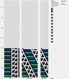 15 around tubular bead crochet rope pattern Bead Crochet Patterns, Bead Crochet Rope, Crochet Bracelet, Peyote Patterns, Loom Patterns, Beading Patterns, Beaded Crochet, Crochet Video, Bracelets