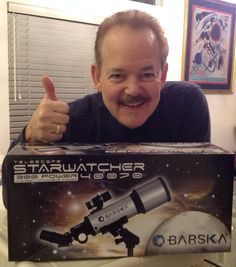 I Won This Barska Starwatcher Refractor Telescope For Just 6 cents on DealDash and Shipping Was FREE.  Another Great Deal. DealDash Has Us STARY-EYED!