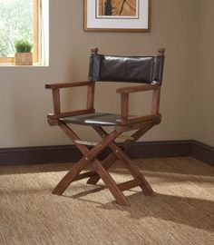 canvas directors chair from AMradio DIY and Tutorials