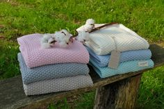 Drops blankets by Little Naturals by Jollein
