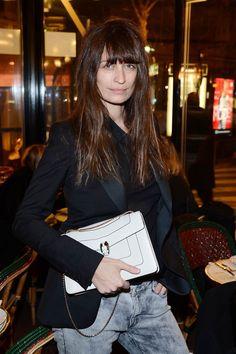 Los invitados a la fiesta de Bvlgari en París para celebrar la Colección de Accesorios 2013: la modelo Caroline de Maigret