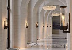Learn more about Luxxu's pieces at luxxu.net and discover the best hotel reception and lobby lighting decor for your new hotel project! Luxury and still modern lighting and furniture Clique aqui http://mundodeviagens.com/hoteis/ e confira a nossa lista de plataformas digitais especializadas em encontrar hotéis em todo o Mundo.