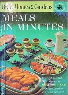 Better Homes and Gardens Meals in Minutes, 1963