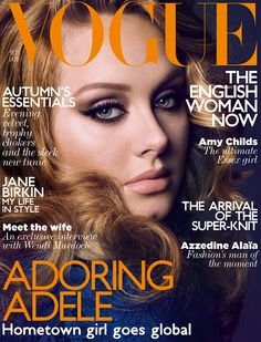 oh Adele... i want your Makeup Artist!
