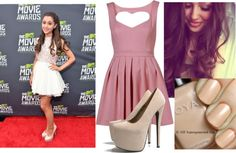 """Ariana Grande Style ♥"" by alizannesevigny ❤ liked on Polyvore"