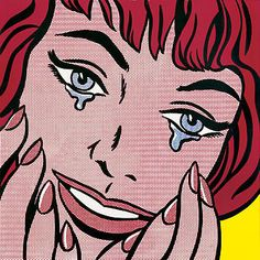 Roy Lichtenstein: Happy Tears (1964)