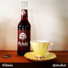 Photo: unsere kola-kaffee-limonade: eine tasse für sich.