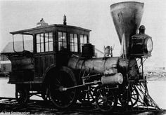 The Planet Class 2-2-2 T Steam Engine, a pioneer steam locomotive. As soon as they were made they were already  outdated by newer steam technology.