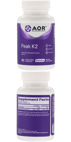 High Dose Menatetrenone (MK-4) Advanced Vegan Non-GMO Gluten Free Dietary Supplement GMP Manufacturing Quality Assured Independent Testing Discussion: Peak K2 is menatetrenone (MK-4), a form of vitamin K2 made in the body from phylloquinone (vitamin K1) and distinct from the menaquinones made by probiotic bacteria. Antioxidant Supplements, Cellular Energy, Low Blood Sugar, Receding Gums, Alpha Lipoic Acid, Vitamin K2, Turmeric Root, Natural Vitamins, Organic Coconut Oil