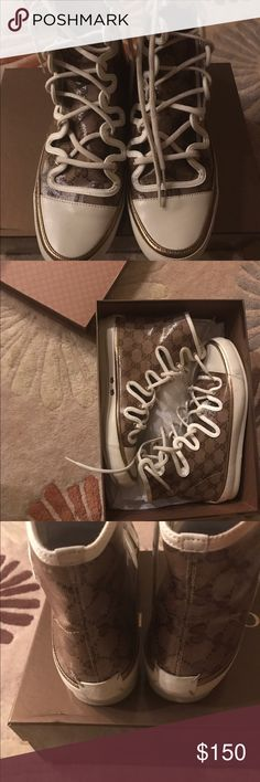 Authentic Gucci sneakers Gucci sneakers in great condition Gucci Shoes Sneakers