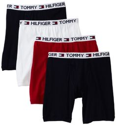 Tommy Hilfiger Men`s 4 Pack Boxer Brief $23.99 #bestseller