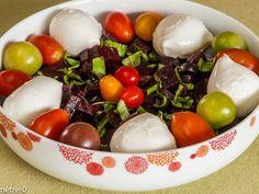 Recette Entrée : Salade de betteraves mozzarella par Kilometre-0