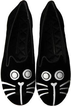 Cat slip on / Marc by Marc Jacobs (マーク BY マークジェイコブス) キャットモチーフスリッポン - shopstyle.co.jp