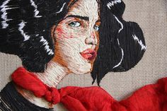 It's one thing to be able to draw beautifully detailed illustrations of people and nature; it's a completely different story if you can thread artworks using different coloured cotton and textures. These...