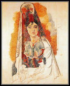 Pablo Picasso Femme à la mantille (Barcelone, juin-novembre 1917)