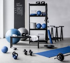 Gym Room At Home, Workout Room Home, Workout Rooms, Outdoor Gym, Sport Outdoor, Gym Facilities, Gym Interior, Home Gym Design, Gym Decor