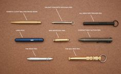 Approved: Mini EDC Pens | Cool Material
