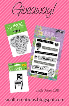 Small T Creations | It's Giveaway Time! #heroarts #stamping #stamps #giveaway #cardmaking #papercraft #diy #crafts