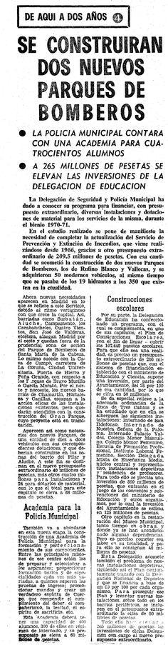 Diario Madrid 15 Oct. 1969