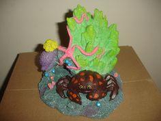 Crab Island Aquarium Fish Tank Dragon Top Decoration Ornament