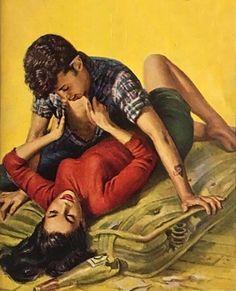 Tramp Romp Romance Art, Vintage Romance, Vintage Art, Vintage Girls, Pulp Fiction Art, Pulp Art, Sexy Painting, Serpieri, Up Book