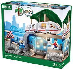 Play Set - Metro City Train Set - Rb33514 - Brio - Wrap--...