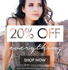 This is the best deal yet! On top of the 20% off sale, Sedona Lace is offering FREE WORLDWIDE SHIPPING! Yes, that's right! No minimum or code needed!   The prices have already been changed to reflect the discount! Sale begins 8/1/14 12:00 AM EST and ends 8/4/14 11:59 PM EST! Don't miss out and shop now: www.sedonalace.com