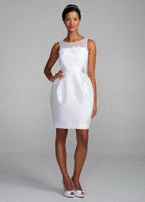 Short Wedding Dresses, Tea Length Wedding Dresses - David's Bridal