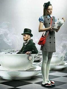 Wonderland Fashionista Shoots : Alice from Momchil Hristov