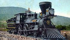 La Général  Etats-Unis, 1855. La locomotive qui conquiert l'Ouest américain et crée la puissance économique des USA.