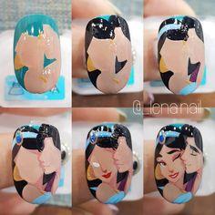 New nails art flores awesome Ideas New Nail Art, Cute Nail Art, Beautiful Nail Art, Easy Nail Art, Cute Nails, Disney Nail Designs, Halloween Nail Designs, Cool Nail Designs, Halloween Nails
