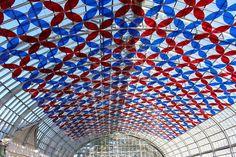 Garfield Park Conservatory Solarise Exhibit @GPConservatory1 @ChicagoParks @_luftwerk #art #greenhouse