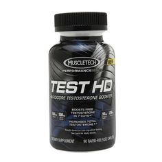 I'm learning all about Muscletech TEST HD Hardcore Testosterone Booster, Caplets at @Influenster!