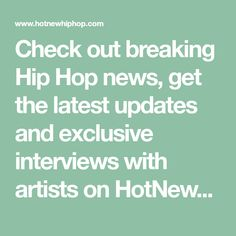 24 Best Latest Hip Hop News images  8b8e8522870e