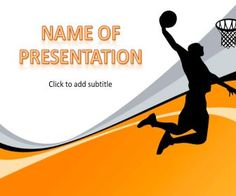 Basketball - free powerpoint templates