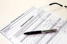 Sample Employment Application Forms