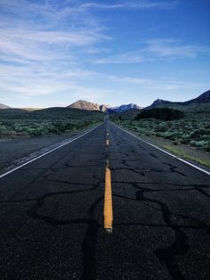 #wide #open #road #mountains