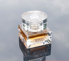 Gucci Eau de Parfum by Gucci is an Oriental Spicy fragrance. Top notes are orange blossom and heliotrope; middle notes are caraway, iris and thyme; base notes are incense, leather, sandalwood, musk, vanilla and cedar essence. http://www.fragrantica.com/perfume/Gucci/Gucci-Eau-de-Parfum-684.html