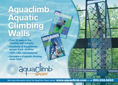 AquaClimb is heading to the Athletic Business show this week in San Diego. See you there @ booth #835