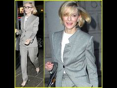 Cate Blanchett Rocks a Pantsuit in London #CateBlanchett #Rocks a #Pantsuit in #London