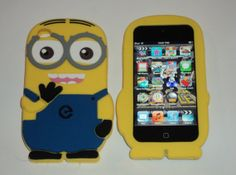 Ipod Touch 4th generation Despicable Me TwoEyed Minion by Keloshua, $6.99