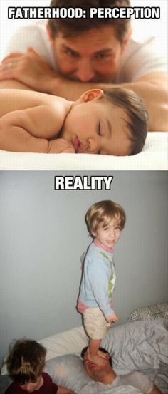 Fatherhood – Expectation Vs Reality