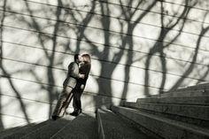 Sessão de Namoro. O beijo.