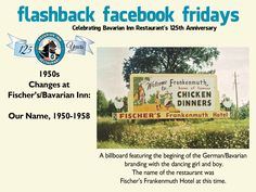 Each week during 2013, we will feature a flashback photo and share our history. Please share these weekly postings with your friends and family and join us in celebrating our 125th anniversary.  Week 21- Bavarian Branding