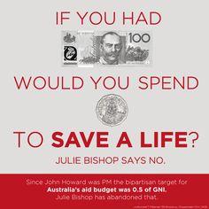Aid. #auspol